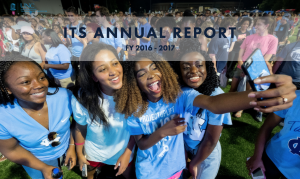 ITS 2016-2017 Annual Report cover screen