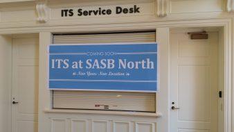 SASB North Service Desk gets renovated