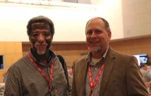 Hiawatha Demby and Paul Lamontagne