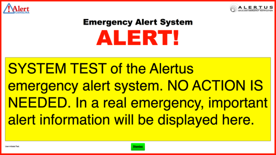 Alertus Desktop Notifcation