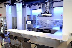 Kitchen at Blue