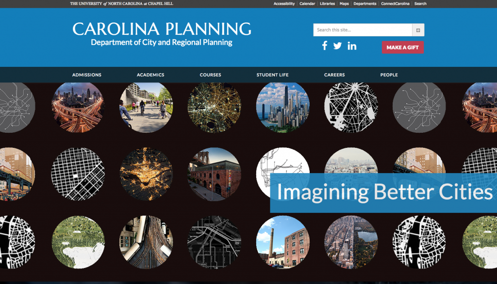 Carolina Planning home page