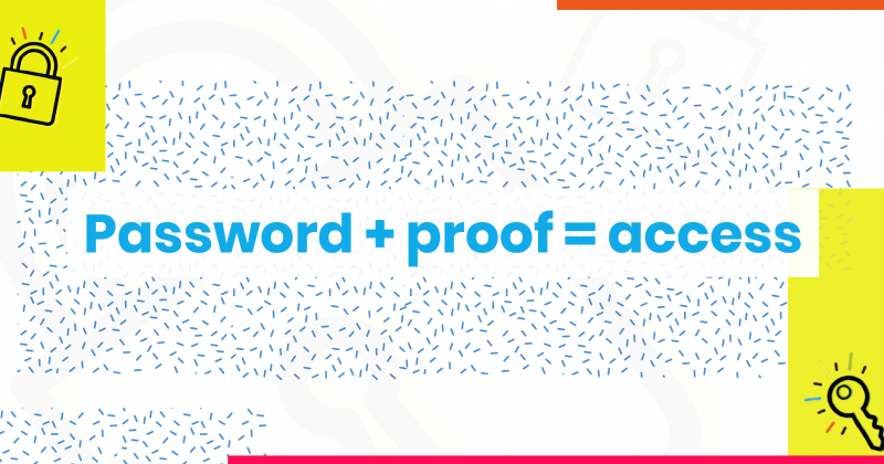 Password plus proof equals access