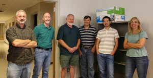 RC Systems team members (from L to R): Stephen Galla, Mike Waldron, Jim Glasson, Steven Fishback, Fengping Hu, Jenny Williams (not pictured: Liam Greenwood, Karen McCollough)
