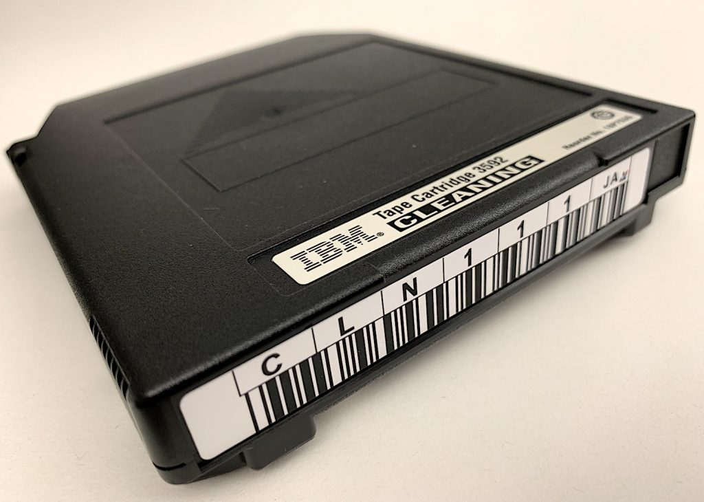 A magnetic tape cartridge