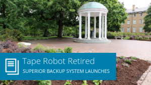 Tape robot retired: Superior backup system launches