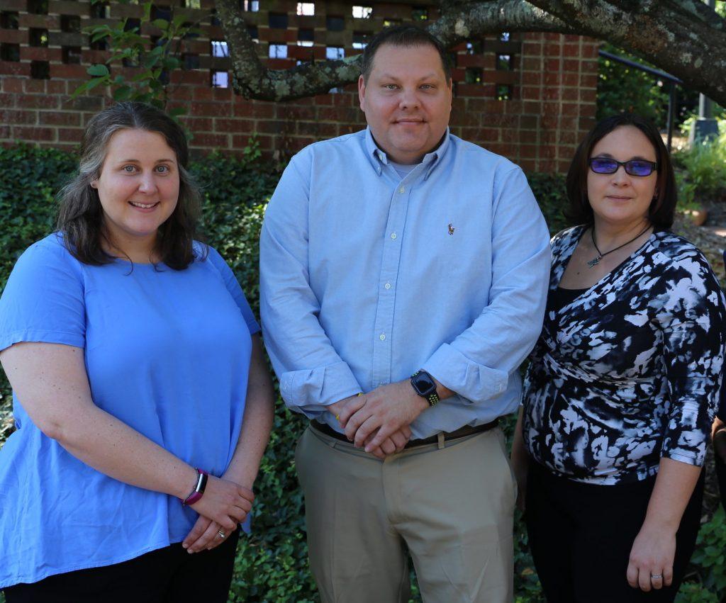 Sarah Arnold, Brad Held and Kat Moore