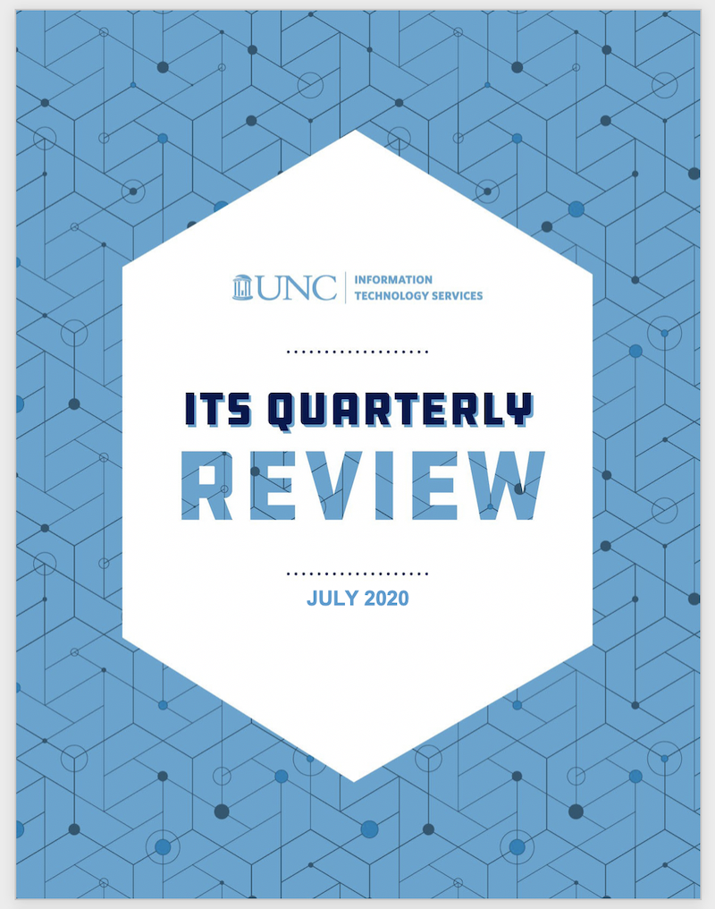 ITS Quarterly Review July 2020