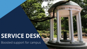 Service Desk: Boosted support for campus