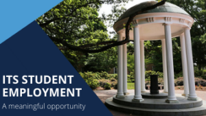 ITS Student Employment: A meaningful opportunity