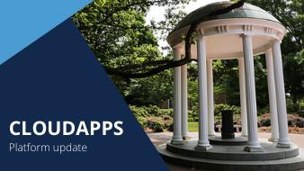 CloudApps platform update