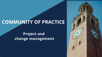 Community of practice: Project and change management
